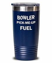 Bowler Tumbler Pick-Me-Up Fuel Insulated Double Wall Travel Thermos - $29.69