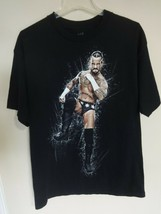 EUC Vintage 2011 CM Punk WWE 2 Sided Men Large T-Shirt Free Ship - $22.27