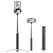Wireless Bluetooth Selfie Stick Foldable Tripod Monopod Remote Smartphon... - $67.99