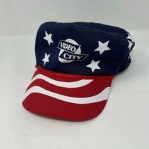 Vintage Video City American Flag SnapBack Hat - $14.84
