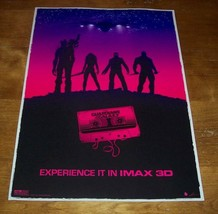 Marvel Comics GUARDIANS OF THE GALAXY Movie Premiere IMAX PROMO POSTER NEW - $29.70
