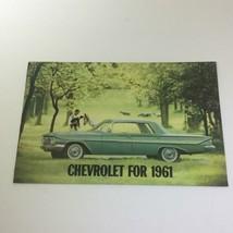 Chevrolet for 1961 Impala Series 2-4 Door Sedan Convertible Car Catalog Brochure - $22.80