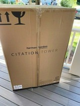 Harman Kardon Citation Tower Grey Bluetooth Wireless Speakers (PAIR) Brand New