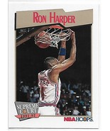1991-92 Hoops #471 Ron Harper NM-MT Clippers SC - $0.99
