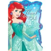 Ariel Little Mermaid Dream Big 8 Postcard Thank You Birthday Party - $5.69