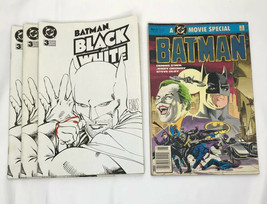 Mixed Lot Batman 3 Black and White 1996 1 Movie Special 1989 - $10.70