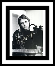 ULTRA RARE - KURT COBAIN - NIRVANA - AUTHENTIC HAND SIGNED AUTOGRAPH - $299.99