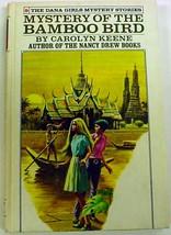 Dana Girls Mystery of the Bamboo Bird white spine edition hc no.9 Caroly... - $5.99