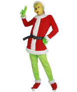 2017 Grinch Cosplay Costume How the Grinch Stole Christmas Fancy Dress F... - $89.00+