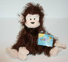 Webkinz MONKEY Sealed Code HM008 Eyelash Brown Plush Stuffed Animal Soft Toy NEW - $17.32