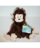 Webkinz MONKEY Sealed Code HM008 Eyelash Brown Plush Stuffed Animal Soft... - $17.32