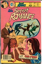 Secret Romance #45 1979-Charlton-spicy art-end of run issue-rare-NM - $62.08