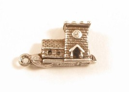Vintage Sterling Silver Church Wedding Opens To People Ceremony Charm*92... - $22.76