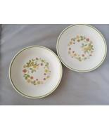 Corelle Corning Vintage Retired Strawberry Sundae Salad Lunch Plates (2)... - $18.59