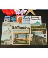 Lot Vintage Kentucky Linen Postcards Highway Maps Brochures Souvenirs - $19.95