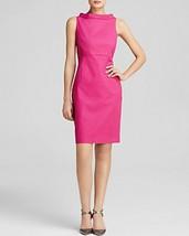 Anne Klein Dress Sz 12 Fuchsia Pink Sleeveless Sheath Business Dinner Dress - $59.35