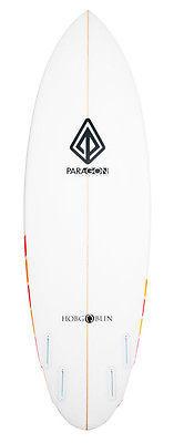 "Paragon Hobgoblin 5'10"" Red-Orange Surfboard"