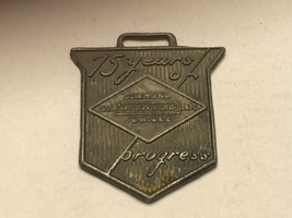 Vintage Watch Fob - Diamond Oilwell Jubilee 75 Years of Progress - $30.00