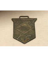 Vintage Watch Fob - Diamond Oilwell Jubilee 75 Years of Progress - $30.00