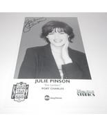 Julie Pinson Autograph Reprint Photo 9x6 Port Charles 1999 Days Our Live... - $9.99