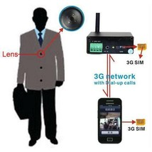 WCDMA 3G button camera GSM SIM Security  Invisible Support 3G Video Call... - $198.00