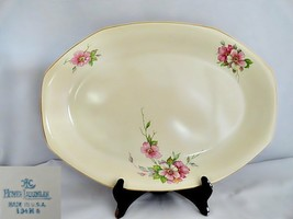 "Homer Laughlin Wild Rose Yellowstone 15"" Platter - $49.08"