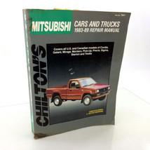 Mitsubishi Cars Trucks 1983-1989 Chilton 7947 Service Manual Repair Shop Book - $10.90