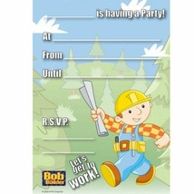 20Pcs Bob The Builder Party Invitations party supplies Girl Boys inc Env... - $1.77