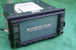 Nissan Altima GPS CD AUX NAVI Bose Stereo Radio Receiver Cd Player 25915-JA00B image 6
