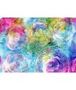 "Bali Hand-Dyed Batik-Hoffman Fabrics-104"" Wide-Ripple Prism-Quiltback-BTY - $19.95"