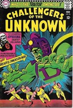 Challengers of the Unknown Comic Book #53, DC Comics 1967 VERY FINE- - $27.01