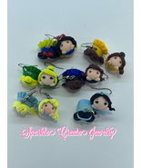 Litimted Edition: Princess Clay Earrings - $23.00