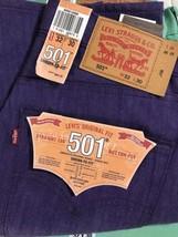 Levis 501 Original Fit Men's Jeans Straight Leg Button Fly W32 x L30 - $403,57 MXN