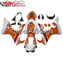 Orange White Body Covers Fairing kit For Honda 17 18 CBR1000RR 2017 2018... - $476.53
