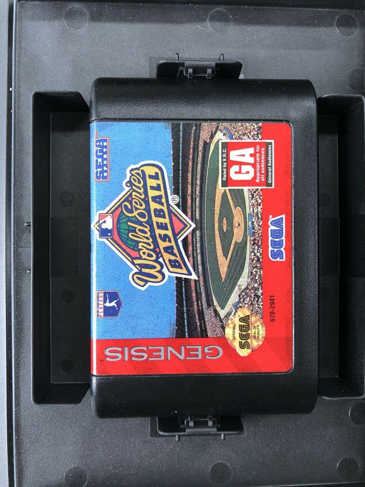 World Series Baseball CIB (Sega Genesis, 1994)