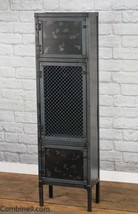 Industrial Apothecary Cabinet, Modern Retail Fixture, Display Cabinet, I... - £1,102.65 GBP