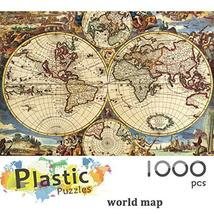 Ingooood - Jigsaw Puzzle 1000 Pieces- World Map-IG-0507- Entertainment Recyclabl image 2