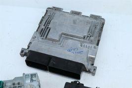 2012 Mercedes W204 C250 ECU Engine Computer EIS Ignition FOB ISL Set  image 5