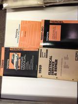 1989 Toyota Tercel Service Shop Repair Manual Set Oem W Ewd Driveability + Mitch - $39.55