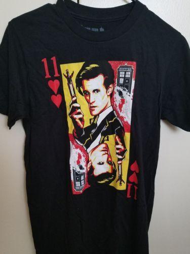 Doctor Who Ripple Junction Men's t-shirt Black Small