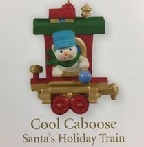 Hallmark Keepsake Cool Caboose Santas Holiday Train Miniature Christmas ... - $4.94