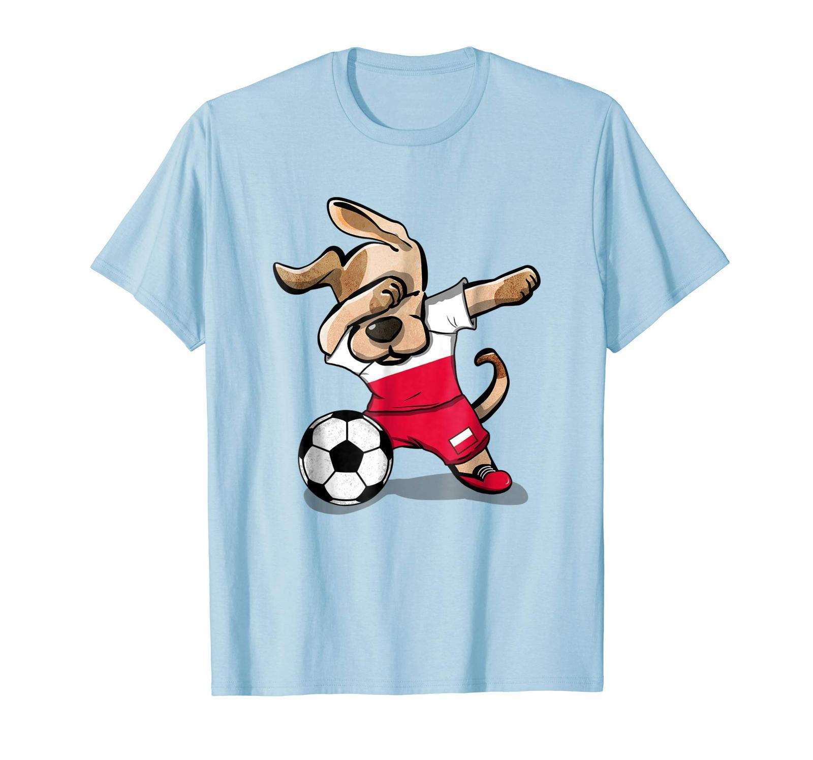 New Shirts - Dog Dabbing Soccer Poland Jersey Shirt 2018 Polish Football Men - $19.95 - $23.95