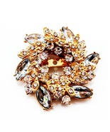 White Flowers Shape Brooch Pins Chinese Redbud Scarf Buckle Garment Broo... - $10.00
