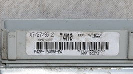 94-95 Ford Mustang GT 5spd MT ECU ECM PCM Engine Computer f4zf-12a650-ea image 2