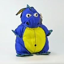 Drag A Long Dragons Junior Manhattan Toy Company Nylon Plush 1992 - $37.36