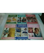 Vintage Crochet Patterns by Herrschners Magazines 6 Issues 1988-1989  - $23.99