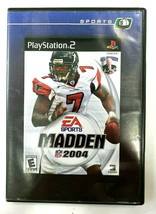 Madden 2004,Football PS2 Game,PlayStation 2 Game - $5.93