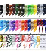 """Fat Shoelaces Thick Flat 3/4"""" Wide Shoelaces Solid Color for All Shoe Types - $4.79"""