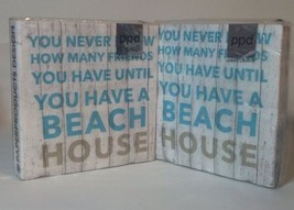 Cocktail Napkins Beach House Friends Novelty Paper 3Ply 2 Packs/20 = 40 ... - $16.04
