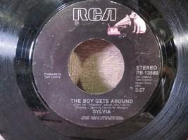 SYLVIA Who's Kidding Who / Boy Gets Around 45 Rpm Vinyl Record - $2.96